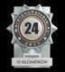 Dobrodzieńska Dycha 2011,kategoria biegi 10km,miejsce 24