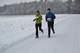 ZiMNaR 2013, etap I, 13.01.2013; Agnieszka i Piotr Patrzykowscy  (okolice 3km); zdjęcie Mariusz Ogorzelec